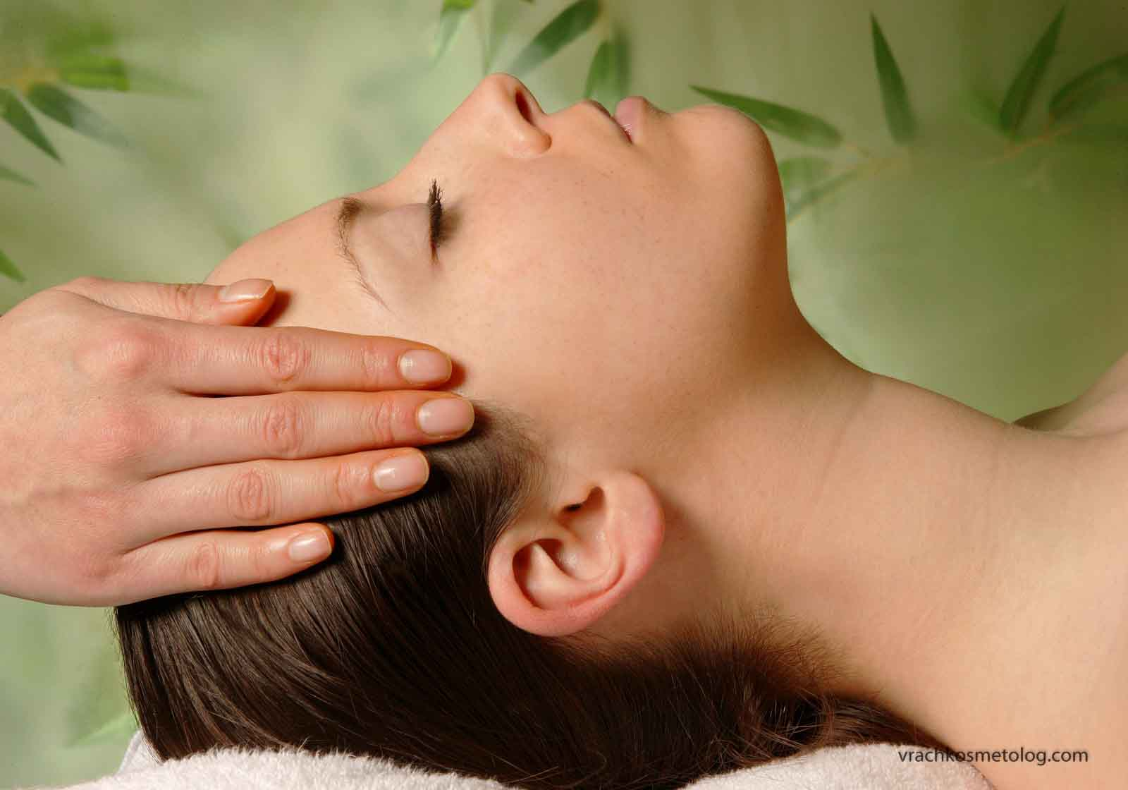 Снятие стресса с помощью массажа