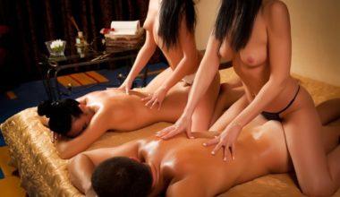 Эротический массаж для пары